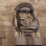 Escudo en el edificio de la carcel antigua de Plasencia