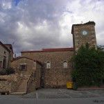 Iglesia en la Plaza de España de Torremenga