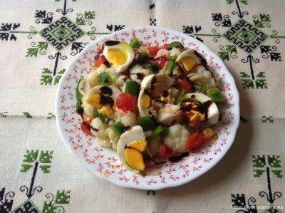 Coliflor en ensalada