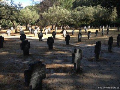 Lapidas en el Cementerio Aleman de Cuacos de Yuste