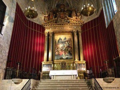 Retablo de la iglesia del Monasterio de Yuste