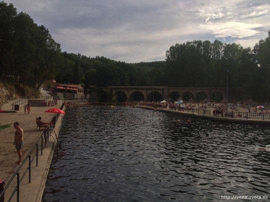 piscinas naturales de la Vera