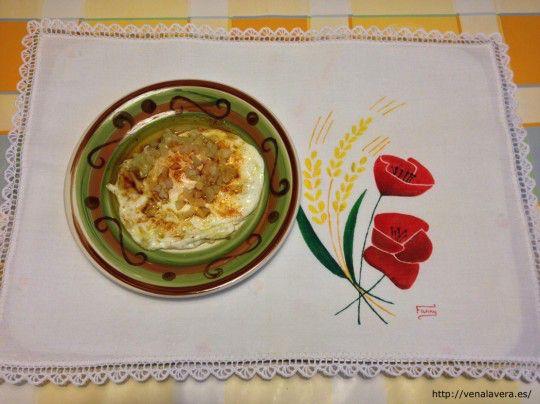 Receta de Huevo Frito Encebollado con Pimentón