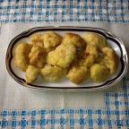 receta de coliflor rebozada - receta extremeña