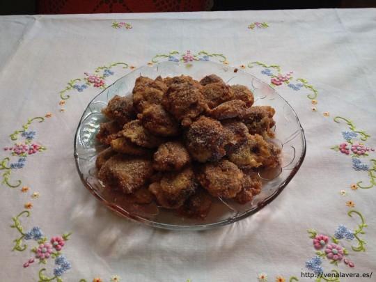 receta de higos fritos