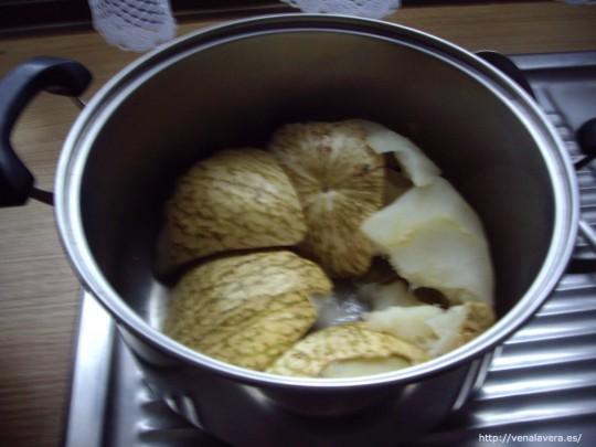 Cociendo la calabaza