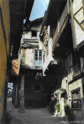 Casa típica en el pueblo de Garganta La Olla