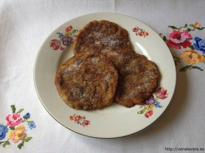 Tortitas de higos secos