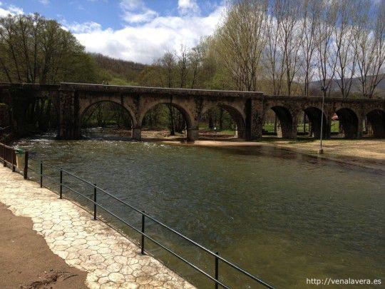 puente sobre la garganta de Pedro Chate