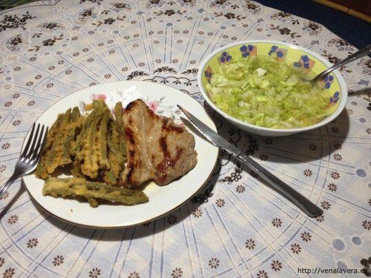 judias verdes con carne