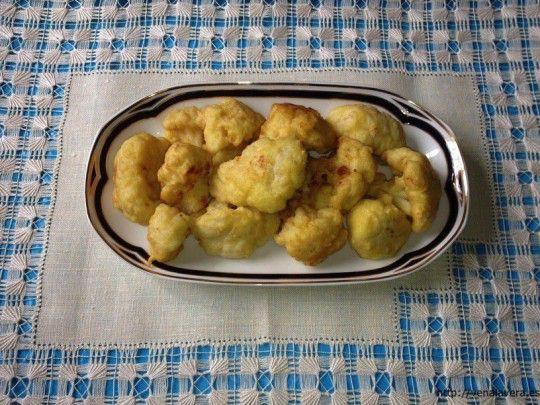 receta de coliflor rebozada