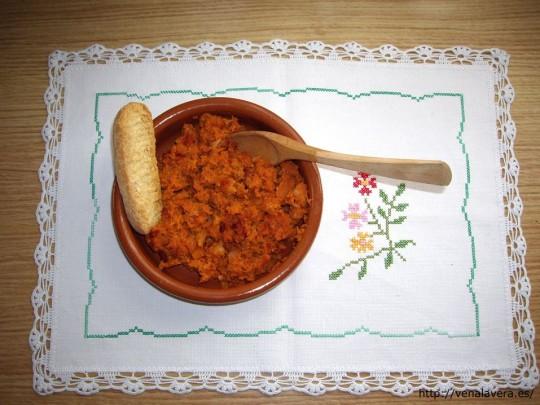 receta del picadillo de calabaza